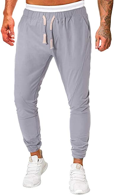 Memefood Pantalones para Hombre, Pantalones de Chandal Gruesos con ...