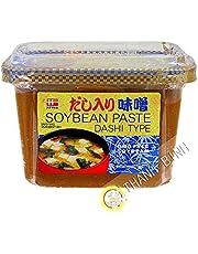 Hanamaruki Dashi Type Dashi IRI Miso Paste, 1 Tub, 500 Gram