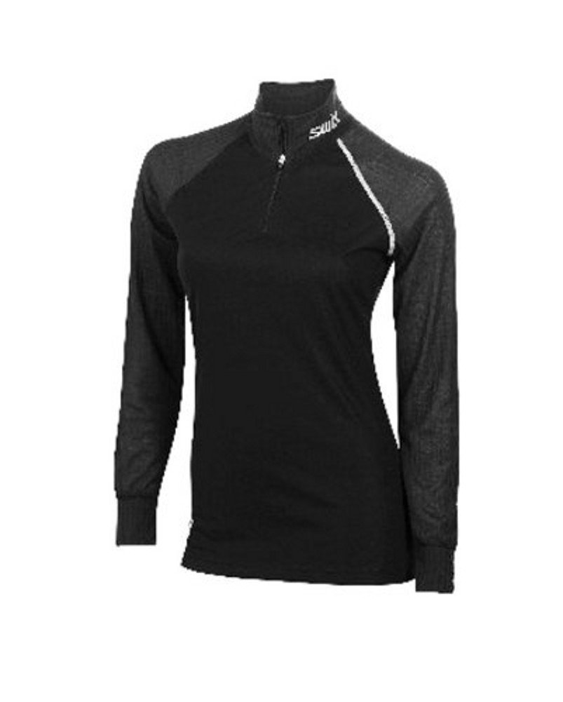 Swix RACING Pro Fit Bodywear Turtle Neck Women - Langarm Ski-Unterhemd GR S