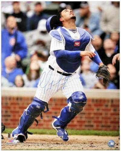 Geovany Soto Signed Picture - 16x20 FANATICS COA - Fanatics Authentic Certified - Autographed MLB Photos