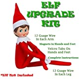 ELF FLEX - Elf on the Shelf Accessories Upgrade Kit - Make Your Elf Shelf Flexible and Bendable, Perfect for Your Christmas Shelf Elf, Elf on Shelf Accessories by ELF DOCTOR