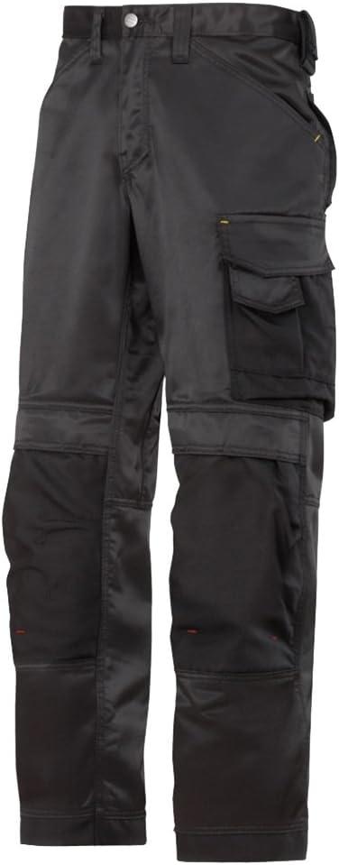 SNICKERS DuraTwill Pantaloni Lavoro Nero Pantaloni Pantaloni artigiani