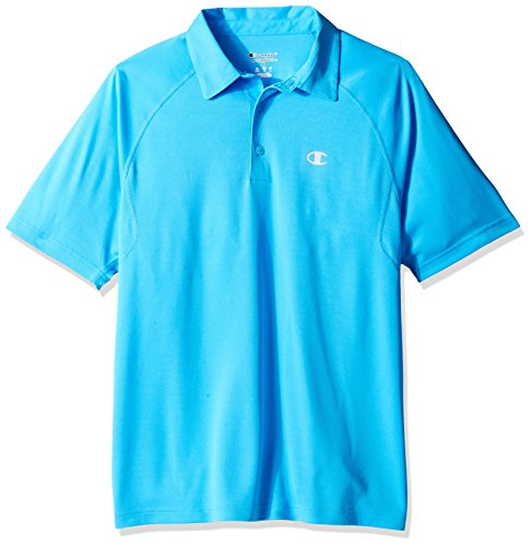 Champion Men's Catalyst Polo Shirt, Hydro, XL (Champions Polo)