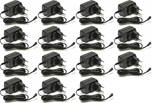15 x Quantity of Carson X4 Quadcopter Version 2 II 3.7V Battery Wall Charger any mAh Auto Shut Off with LED 220V UK Version Plug HM-CB100-Z-21 (220V) by HobbyFlip