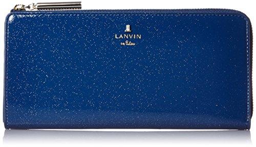 [랑방 온 블루] LANVIN en Bleu Amazon공식 정규품 룩셈블 에나멜 L패스너 장지갑