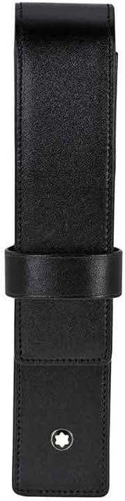Montblanc U0014309 Meisterstück - Estuche para artículo de escritura con un compartimento, negro