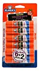 Elmers Washable Disappearing Purple School Glue Sticks, 0.21 Oz 8pc Deal (Small Image)