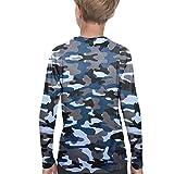 Sun Shirts for Youth Boys Rashguard - Long/Short