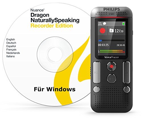 Voice Tracer Digital Audio Recorder with Speech Recognition Software