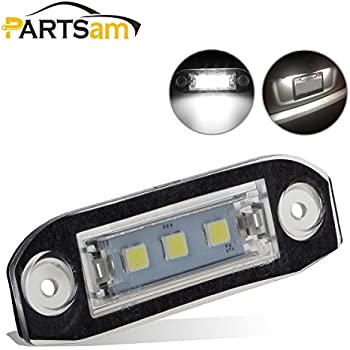 Xenon White Canbus 3 Smd LED Interior Bulb Spare Part Replacement For Volvo C90