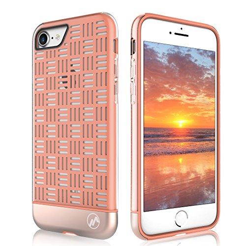 iPhone 7 Plus case,iPhone 8 Plus case,Maxace PC +TPU 3 in 1 Slider Dual-Material Case for Both iPhone 7 Plus and iPhone 8 plus 2017 least ()