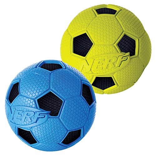 Nerf Dog 2 Pack Crunchable Soccer product image