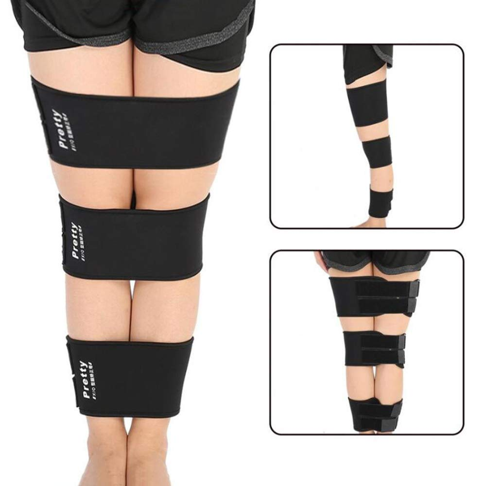 HAIHF Posture Corrector,Adjustable Legs Correction Belt, O/X Type Legs Corrector Bands Bowlegs Straightening Bandage Kit for Children and Adults, Corrective Leg Care Tools, 3PCS by HAIHF