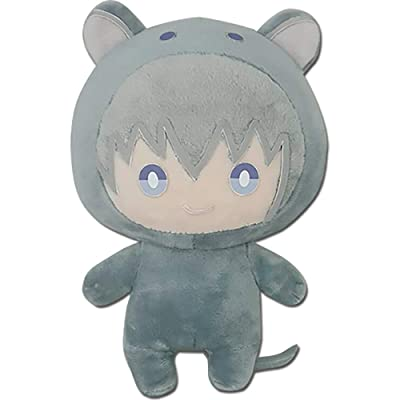 Great Eastern Entertainment Fruits Basket Anime Yuki Sohma Rat Cosplay Suit Plush Toy, 6-inch: Toys & Games