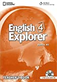 English Explorer Level 4 - Teacher Book with Audio CDs