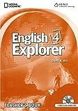 English Explorer Level 4 - Teacher Book with Audio CDs