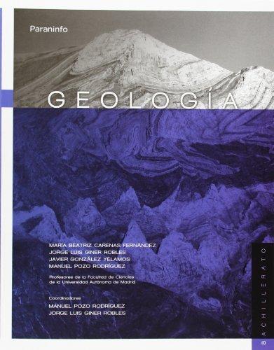 Descargar Libro Geología Maria Beatriz Carenas Fernandez