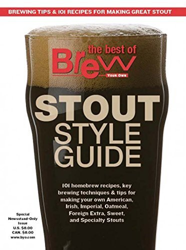 Home Brew Ohio Brew Your Own magazine Stout Style Guide