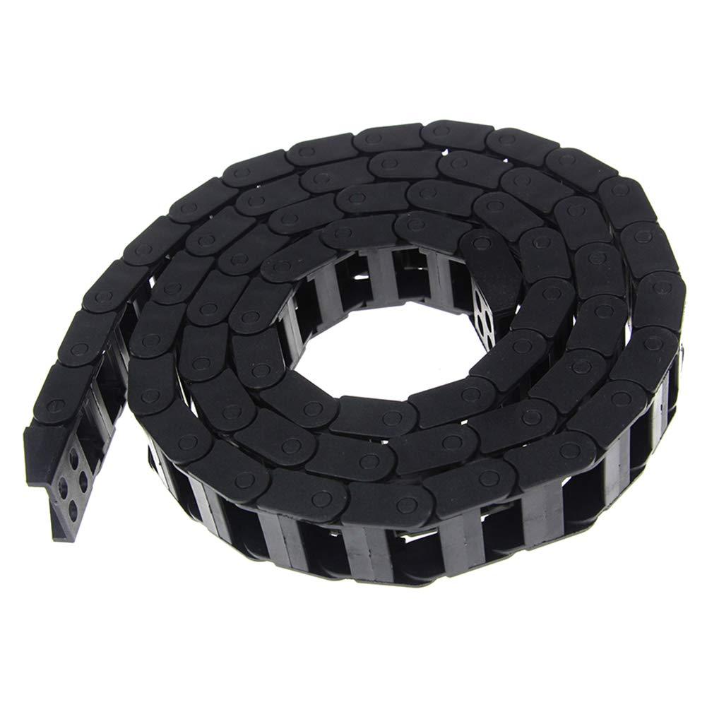 Black Nylon Transmission Drag Chain for CNC Router Machine 3D Printer Parts