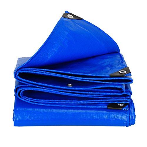 HQCC Große Plane-Blatt-Abdeckungs-Plane wasserdichtes Hochleistungs verdicken PET-Zelt-Spleiß-Markise-Sonnenschutz-im Freien Sunscreen - Blau, 180G   M² (größe   2  3m)