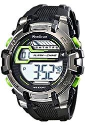 Armitron Sport Men's 40/8342 Digital Chronograph Resin Strap Watch