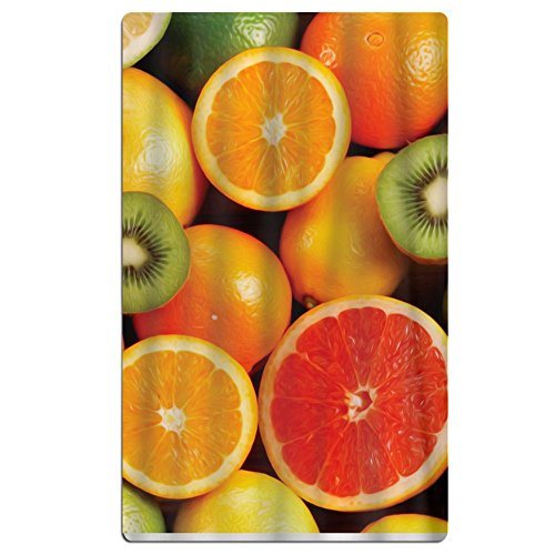 Large Oversized Microfiber Beach Towel Blanket Lemon Orange