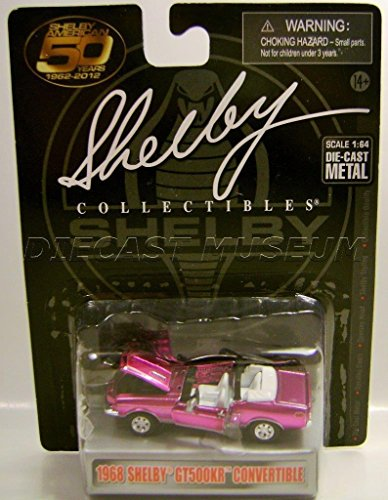 1968 '68 FORD SHELBY GT500KR CONVERTIBLE SHELBY COLLECTIBLES DIECAST ()