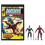 Marvel Universe Bullseye and Daredevil Figure Comic Pack 4 Inches