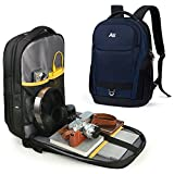 ASPENSPORT Laptop Backpacks Men & Women Computer Travel Bags Water Resistant Business Backpack Fit.s 15.6 Inch College Large Bookbags Full Open Backpack Durable Rucksacks Navy