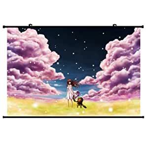 Clannad Anime Wall Scroll Poster (24''*16'') Support Customized