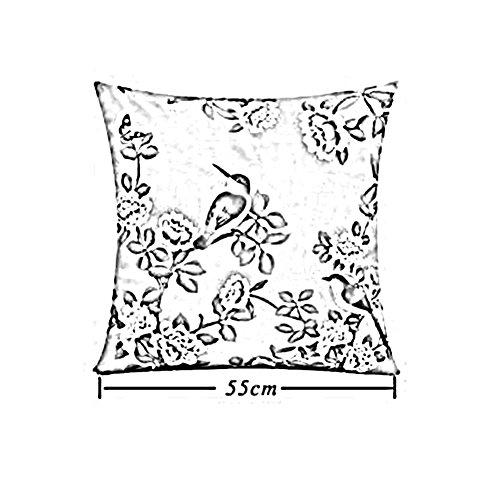 T2 Televisión Cuello Tamaño Impresión Art color Espalda T2 Viendo Apoyo Pierna Textiles Amortiguar 45x45cm Leyendo Almohada Lumbar La Descanso Geométrico Cjc wRfqqz6
