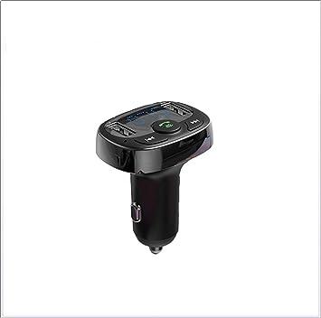 ZUEN Coche Bluetooth Cargador MP3 4,2 Dual U Coche Cargador ...