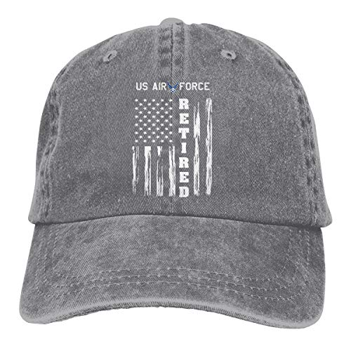 AKFJ NKJA US AIR Force Retired American Flag Unisex Trucker Hats Dad Baseball Hats Driver Cap