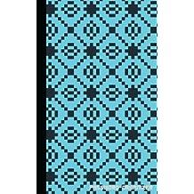Password Organizer : (Blue, Tiffany Pixel), Internet Password Organizer, 5 by 8, Password Book with 300 Password Reminder, Vol.1: Password Book And Organizer Journal