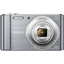 Sony Cybershot DSC W810/SC 20.1MP Digital Camera with  Silver