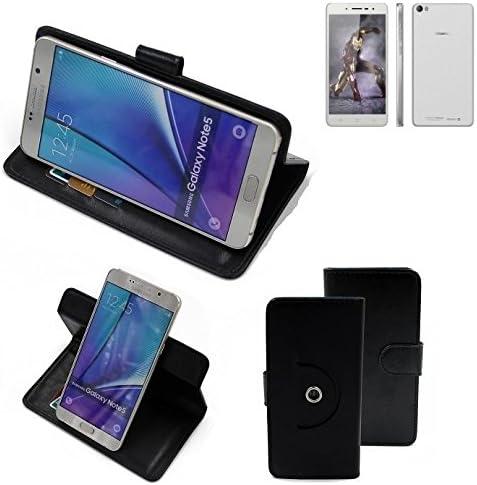 K-S-Trade 360° Funda Smartphone para Hisense L671, Negro | Función ...