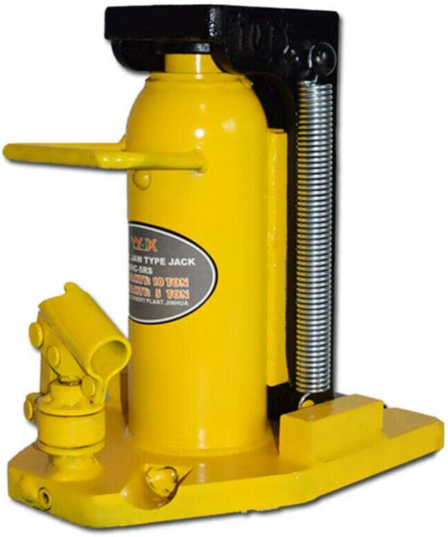 DBM IMPORTS Hydraulic Ram Toe Lift Jack 10//5 Ton Hoist Picker Track Machine Container Loading