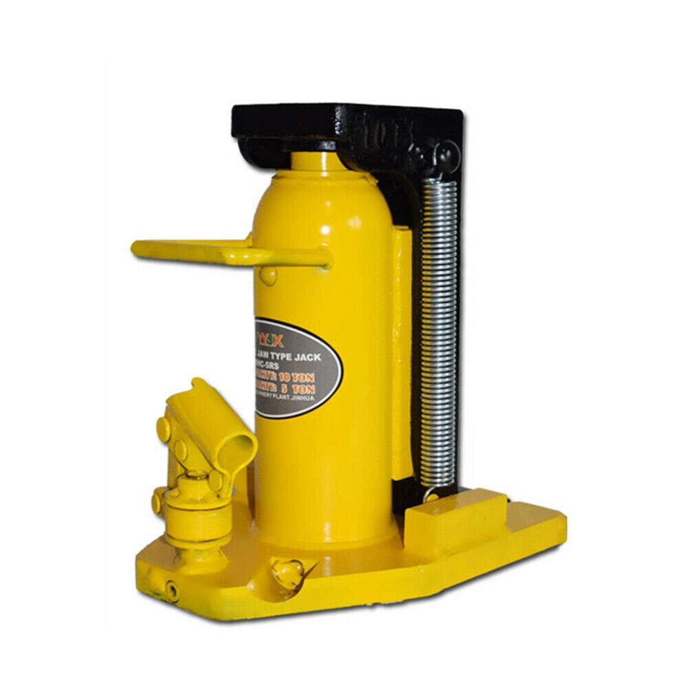 RanBB Hydraulic Machine, Professional Hydraulic Machine Toe Jack Lift 5/10 Ton Capacity On Top 10T by RanBB