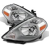 ACANII - For 2007-2012 Versa Replacement Headlights Replacement 07-12 Headlamp Driver + Passenger Side