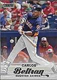 2017 Topps Stadium Club #143 Carlos Beltran Houston Astros Baseball Card