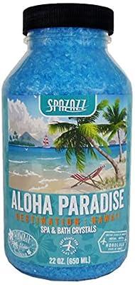 Spazazz SPZ-303 Hawaii Aloha Paradise Destination Crystals Container, 22 oz.