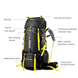 BLUE CHARM Camping Bag/Outdoor Trekking Large-Capacity...