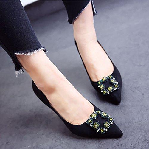 FLYRCX Europäischen Frühling und Herbst top Qualität Qualität Qualität Velours thin High Heel Schuhe Mode sexy Persönlichkeit Schuh lady party Schuhe Schuhe 190b31
