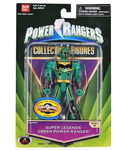 Power Rangers Super Legends Green Power Ranger (Ranger Legends Super)