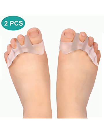 Separadores de dedos del pie, corrector de gel para juanetes, Hallux valgus ayuda férula