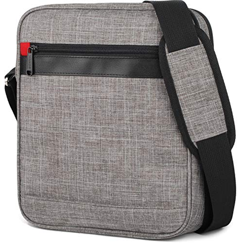 Victoriatourist Shoulder Messenger Bag for iPad/Tablet Upto 10.1' (Grey)