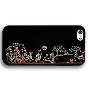 Christmas Lights Pirates In The Caribbean For Ipod Touch 5 Case Cover Armor Phone Case