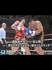 渡部あきのり×梁正勲(2011) 東洋太平洋ウェルター級タイトルマッチ