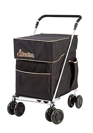 Little Donkee carrito plegable para compras y ocio, carro de comestibles, versión de 4 a 6 ruedas, tres colores, resistente y estable, se vende ...