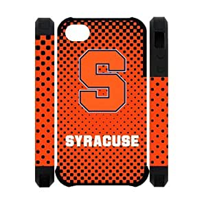 Charming NCAA Syracuse Orange Apple Iphone 4S/4 Case Cover Dual Protective Polymer Cases HD Picture